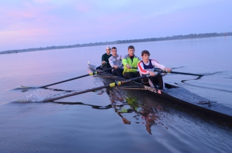 College of Charleston's first SIRA-winning men's 4+