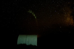 Night over the weatherport
