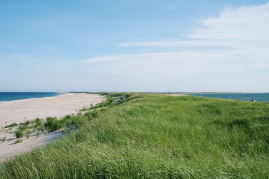 Monomoy Crossover, looking south