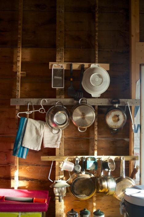 The pot rack at the lightouse