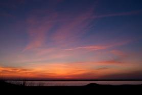 Sunset over Powder Hole