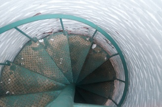 Monomoy Light tower steps