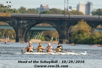 Men's Championship Quad at the 2016 Head of the Schuylkill
