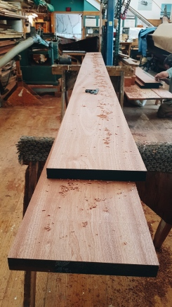 Finished planks.