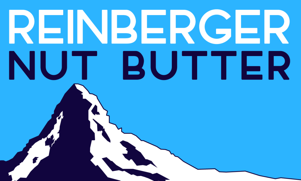 Reinberger Nut Butter's visual language and brand identity has been developed over a period of several years.